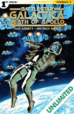 Battlestar Galactica: Death of Apollo #1 (of 6): Digital Exclusive Edition